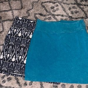 2 mini skirts. Selling as a pair or individual